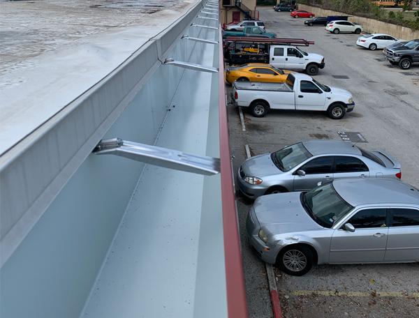 Commercial Gutter Installation Houston