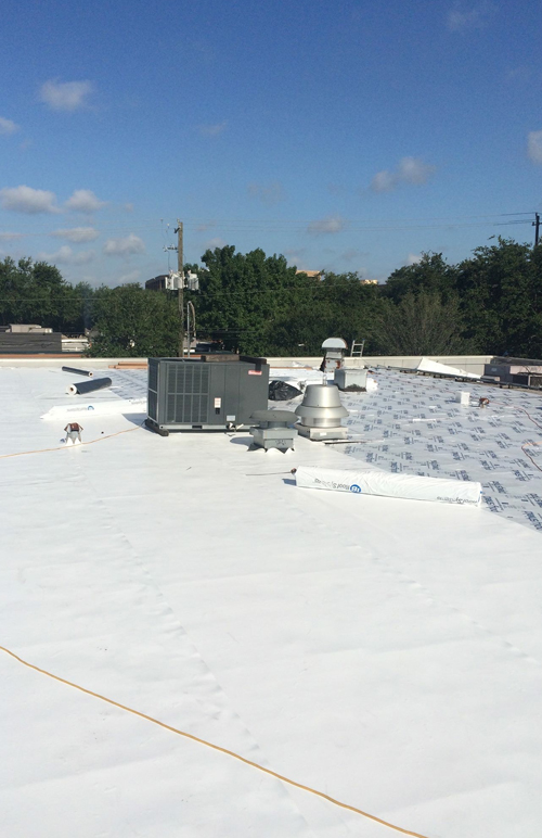 Commercial Roofing Contractor Houston